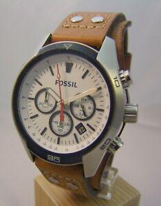 Armbanduhr Herrenuhr von Fossil Chronograph in Edelstahl ***