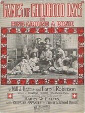 Games of Childhood Days or Ring Around A Rosie, 1908, 2nd offered of this versio