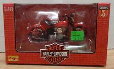 1948 FL Panhead Harley-Davidson Motor Cycles Maisto 1:18 073018DBT3