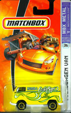 Matchbox Volkswagen Van Diecast Vehicles