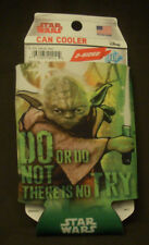Disney Star Wars Yoda Can Cooler Coozie Koozie Insulator two sided