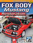 MUSTANG RESTORATION MANUAL HOW TO RESTORE FOX BODY FORD BOOK SMART 1979-1993