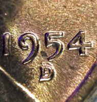 1954 D Wheat Cent FS-501 RPM-001 Stage E