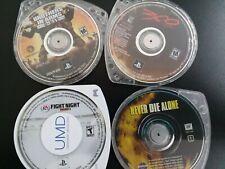 PSP BUNDLE: Three Games & One UMD *FREE SHIPPING*
