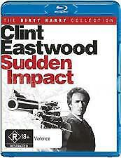 SUDDEN IMPACT BLU RAY - NEW & SEALED CLINT EASTWOOD AS DIRTY HARRY, R RATED