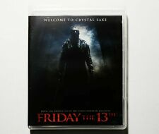 Friday the 13th 2009 Remake Deluxe Edition Scream Factory Blu-Ray Killer Cut