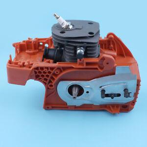 Crankcase Piston Cylinder Motor Assembly fit HUSQVARNA 350 340 345 44MM Chainsaw