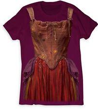 Sarah Sanderson Tee Shirt Costume Women Disney Hocus Pocus Medium