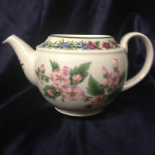 ROYAL WORCESTER ENGLAND WORCESTER HERBS TEAPOT 48 OZ NO LID MARSHMALLOW & SAGE