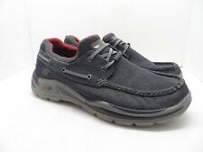 Skechers Men's Relaxed Fit Memory Foam Insole Casual Slip On Shoe Navy Size 9WW