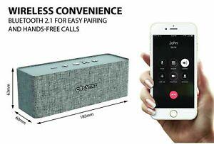 Creative Nuno Portable Bluetooth Audio Speaker Builtin MIC For iPhone Samsung F3