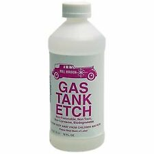 Bill Hirsch Fuel Petrol Gas Tank Etch Rust Remover Cleaner, Prior To Repair