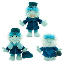 Disney Parks Halloween Haunted Mansion Plush Hitchhiking Ghosts Set of Three- 9""