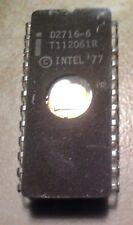 Intel D2716-6 2716 16K EPROM - UV Eraseable