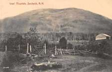 Sandwich New Hampshire Israel Mountain Scenic View Antique Postcard J61373