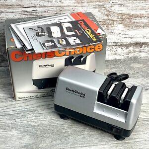 Chef's Choice M300 Diamond Hone Electric Knife Sharpener Platinum Edition USA
