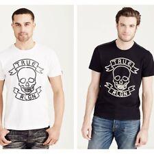 True Religion Men's Neon Skull Tee T-Shirt