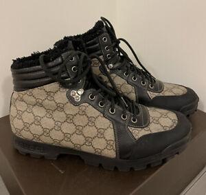100% Authentic Mens Gucci Nebraska Boots, Size 9
