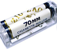 Zig-Zag 70MM White Cigarette - 1 ROLLER - Machine Zig Zag Roll Papers Rolling