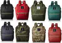 100% authentic! Anello AT-B0197 Mini 2way  Backpack Rucksack 15 Colors Design
