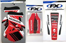 Factory Effex EVO 14 Graphics Forks Rear Fender Honda CR 125 CR125 95 96 97 NEW