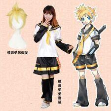 Hot Vocaloid Kagamine Len Original Default Cosplay Costume