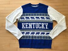 Forever Collectibles NWOT Men's Kentucky Wildcats Ugly Sweater Basketball sz XL