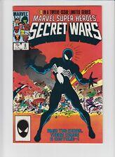 Marvel Super-Heroes SECRET WARS #8 (Marvel 1984) VF+ (8.5)  1st Black Costume