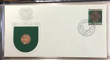 1975 Papua New Guinea first day of issue cachet - 1t