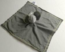 AMY COE Sampson Gray Elephant Baby Cozy Plush Lovey Blanket NWT Security