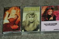 TAYLOR DAYNE POP DANCE  3 CASSETTES TELL IT TO MY HEART CANT FIGHT FATE SOUL