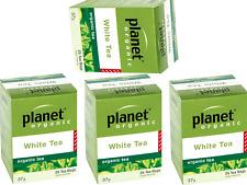 4 X 25 Bags Planet Organic Organic Herbal White Tea ( 100 Bags)