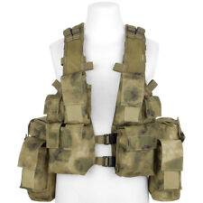 Mfh South African Assault Vest Cargo Hunting Airsoft Combat Hdt Camo Fg Camo