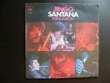"SP SANTANA ""Jingo"" Série Gemini CBS BIEM 4612 France (1969)"