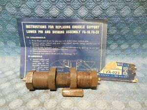 Early 1939 Dodge & Plymouth NORS Lower Outer Control Arm Pin Kit (See Ad)