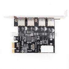 4 Port Usb 3.0 Pci Express Card Pc Karte Computer Controller Hub Pcie Adapter W