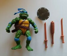1992 Vintage TMNT Ninja Turtles Playmates Movie Star Leo w/ accessories