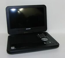 "BUSH 10"" SWIVEL SCREEN PORTABLE DVD PLAYER CDVD100W1SWM - BLACK RF450"