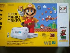Wii U Super Mario Maker the 30th Anniversary Set From Japan New