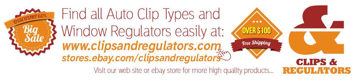 Clips & Regulators Auto Parts