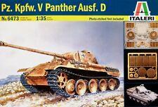 Italeri 1:35 Pz.Kpfw.V Panther (Ausf.D) German Tank Model Kit