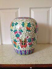tongzhi dynasty antique chinese   jar/ vase H 11 inches