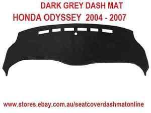 DARK GREY DASH MAT, DASHMAT,DASHBOARD COVER HONDA ODYSSEY 2004 - 2007,DARK GREY
