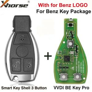 Xhorse VVDI BE Key Pro with Smart Key Shell 3 Button for Benz Key Package