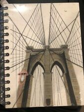 Mr. Ellie Pooh Brooklyn Bridge Journal (040-852668978548) FAST FREE SHIPPING