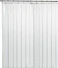 "LiBa Mildew Resistant PEVA 72x72"" Shower Curtain Liner - Clear"