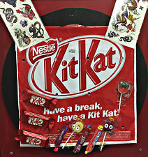 Kit Kat Show Bag Wonka Red Skins Milko Lolly Pop Chocolate Lolly Party Showbag