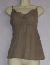 New Ladies DOROTHY PERKINS lace embellished strappy top Size10