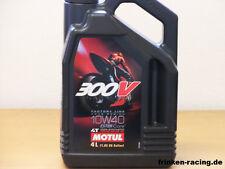 12,48 €/L Motul 300v 4t 10w-40 4 LTR ésteres Core moto racing aceite del motor