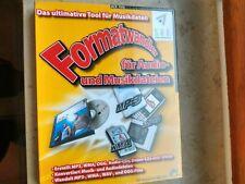 Formatwandler für Audio- und Musikdateien, S.A.D., DVD
